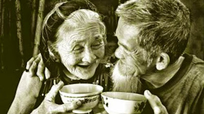 Ảnh đẹp tình yêu cụ già
