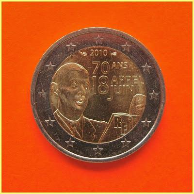 2 Euros Francia 2010