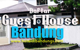 Daftar Guset House di Bandung