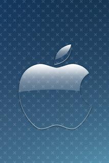mac applexblue iPhone 4 Wallpapers