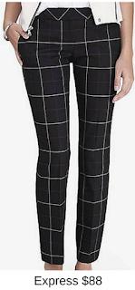Sydney Fashion Hunter - She Wears The Pants - Express Windowpane Women's Work Pants