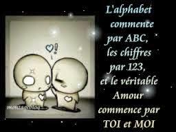 Phrase d'amour mignonne