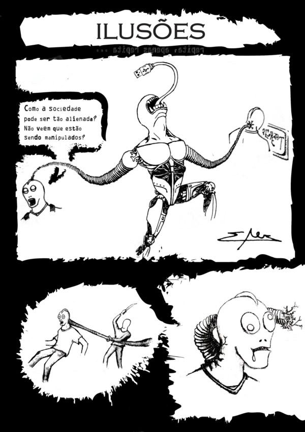 Ilusões (desenho - tirinha)