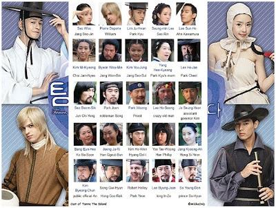 Ickha Luthu Na's Site: Drama Korea : Tamra The Island