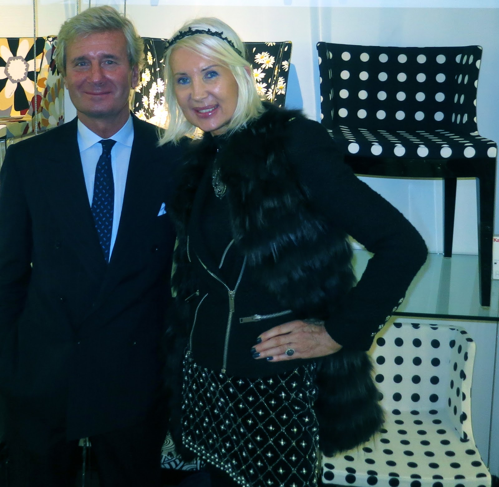 International luxury consulting kartell claudio luti for Chaise de philippe starck