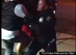Cop Punches Woman In The Face, Police are investigating a YouTube video where a woman outside an Elizabeth, N.J. club appears to grab a police officer, who then punches her in the face.