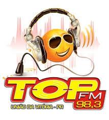 ouvir a Rádio Top FM 98,3 União da Vitória PR