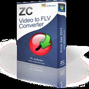 تحميل برنامج تحويل الفيديو والافلام الى فلاش ZC Video to FLV Converter