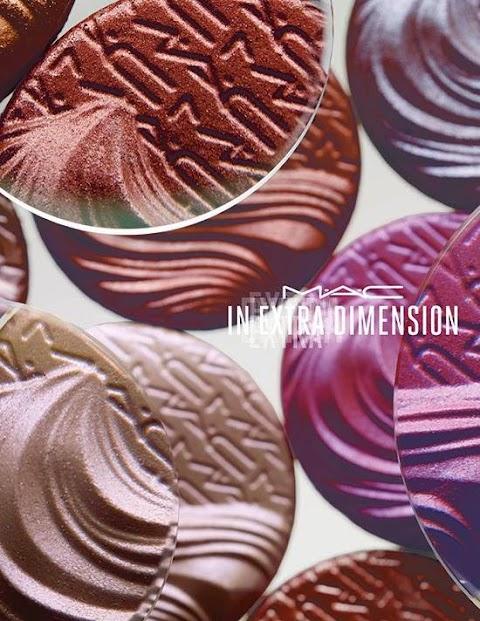 MAC Extra Dimension Eyeshadow 2015 vasaros šešėlių kolekcija