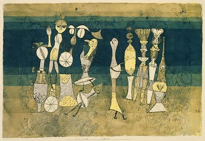 Paul Klee -Comedie,1921.