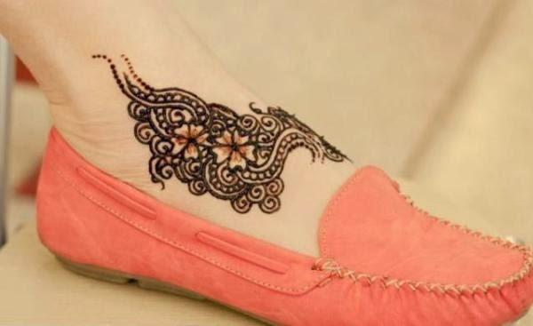 Cute Mehndi Tattoo : Latest fashion trends stylish girls mehndi tattoos designs