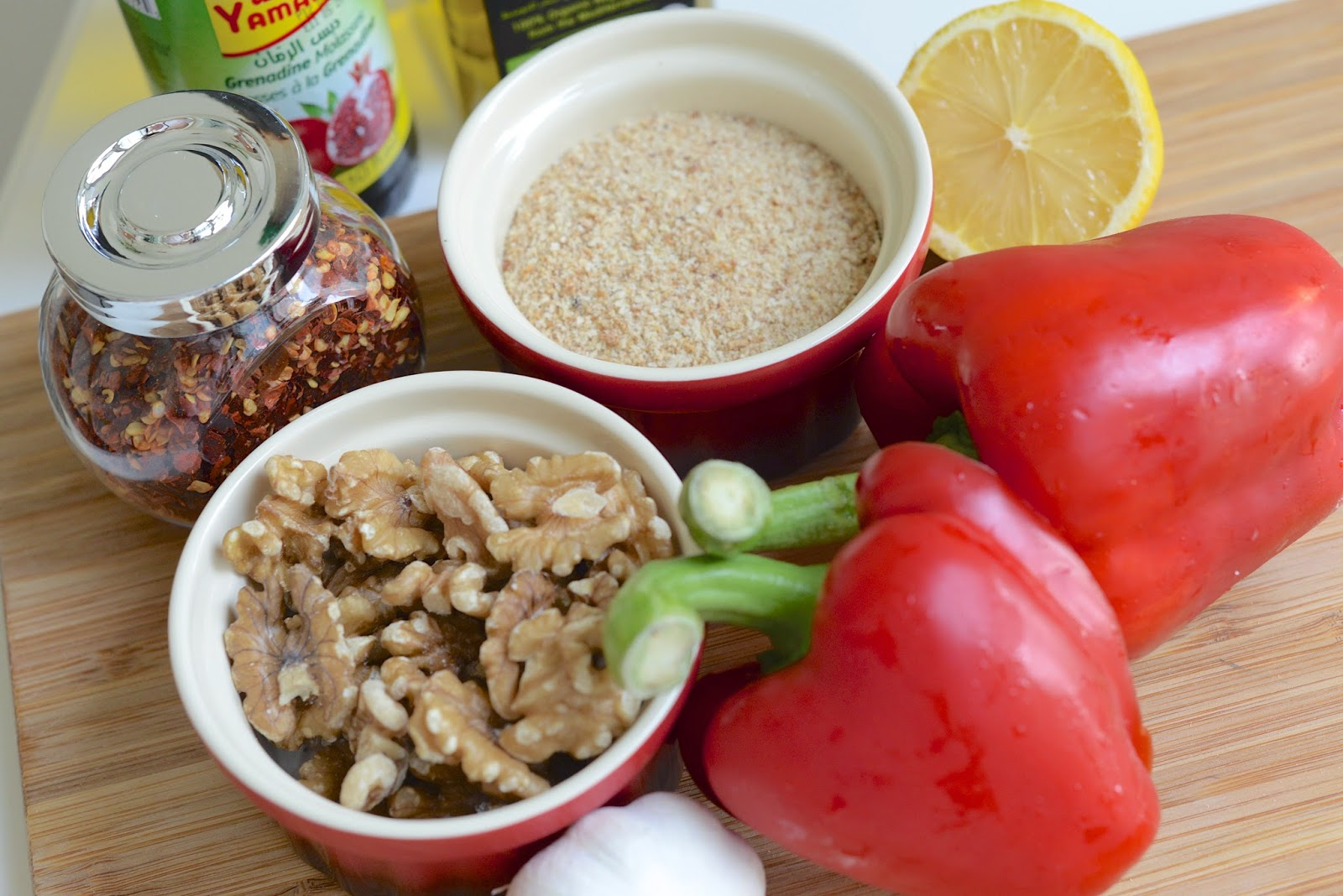Homemade Muhammara Recipe Ingredients