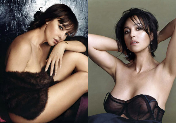 Monica Bellucci Movies List Was Known As The Hottest