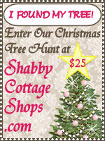 Enter The Christmas Tree Contest at Shabby Cottage Shops!