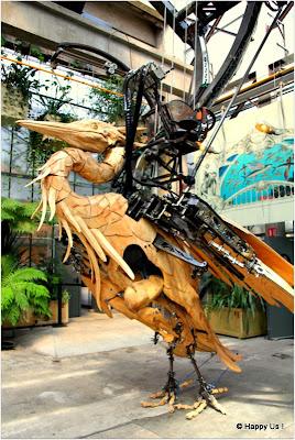 La Galerie des Machines de Nantes - Arbre à Hérons