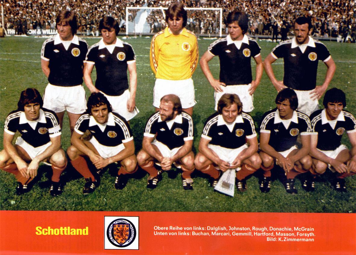 Resultado de imagem para escocia 1980 football