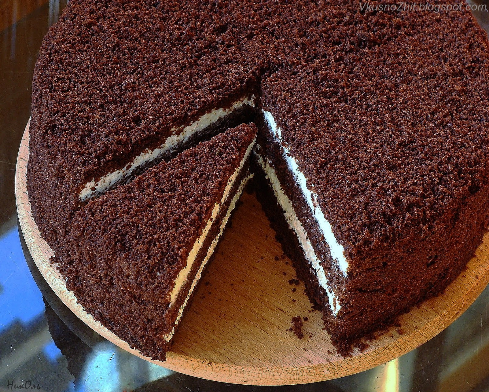 Как сделать шоколадный торт с какао