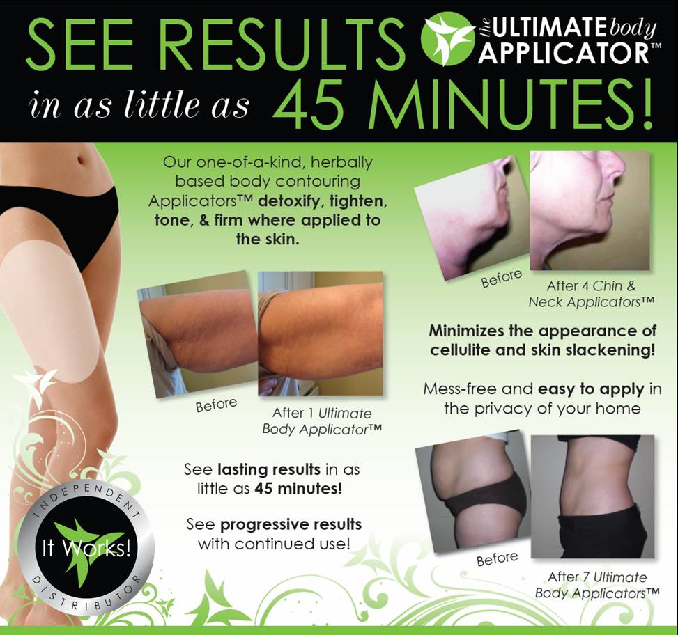 Return To Clarity The It Works Body Wrap Applicator