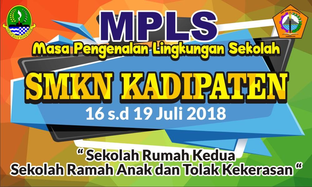 Download Contoh Spanduk Mopd Mpls Untuk Peserta Didik