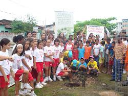Reflorestamento urbano na Avenida Centenário, Bugio, Aracaju