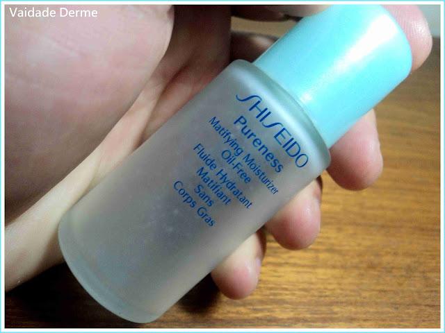 Hidratante Facial Pureness Matifying Moisturizer Oil-Free da Shiseido