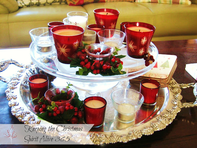 Decorating, Home Decor, Christmas, candles