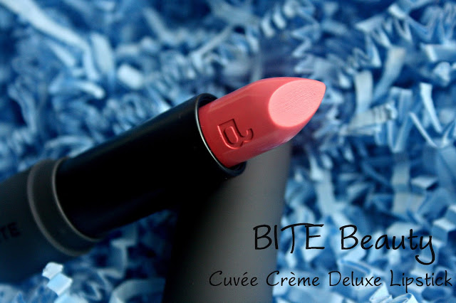 Bite Beauty Cuvee Creme Deluxe Lipstick in Blush