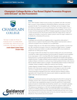 champlain college forensic encase guidance software rajewski