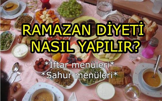 ramazan diyetleri