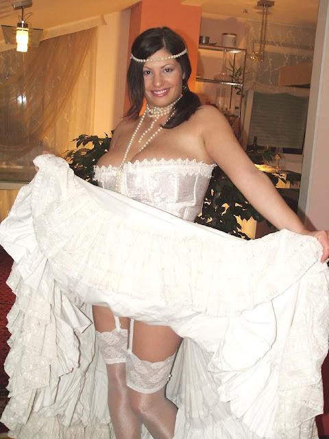 Mujeres Calientes En Vestido De Novia Collage Novias Listas Para