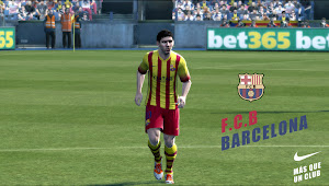PES 2013 Barcelona FC 2013/14 Kits by arturo610