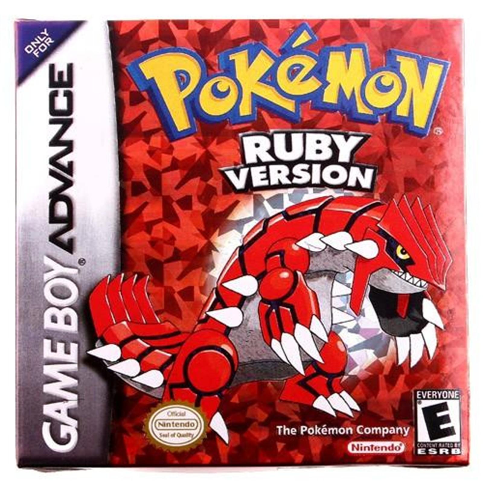 Visual Boy Advance Cheats Pokemon Ruby