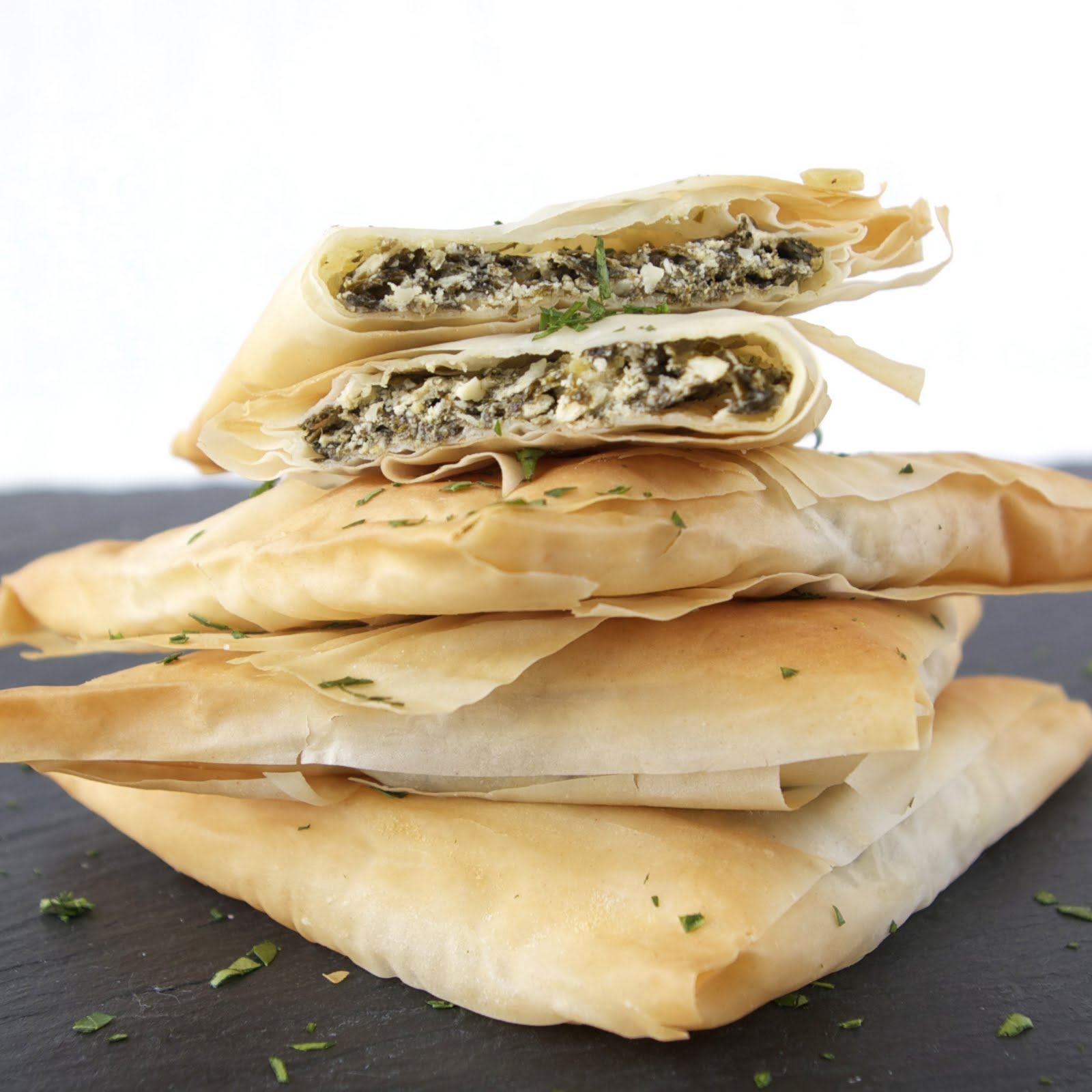 These Peas are Hollow: Spinach & Goat Cheese Turnovers