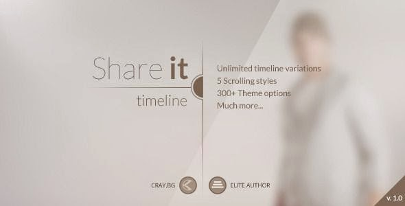 Share It - Timeline WordPress Theme