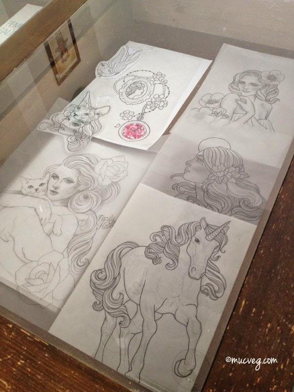 ink not mink veganes tattoostudio in berlin. Black Bedroom Furniture Sets. Home Design Ideas