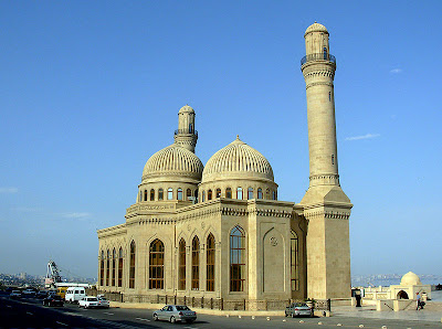 Beautiful Islamic mosque