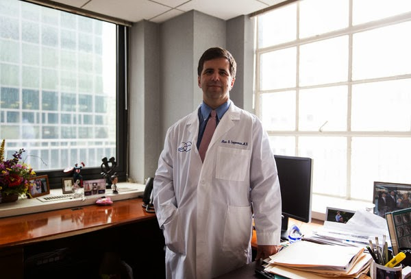 Dr. Alan Copperman, director of infertility at Mount Sinai Hospital, in his office in New York on Tuesday
