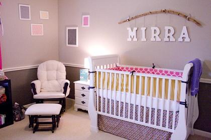 Habitaciones para beb s ni as colores en casa - Habitacion bebe original ...