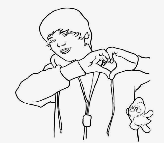 Justin bieber coloring pages games for Free justin bieber coloring pages