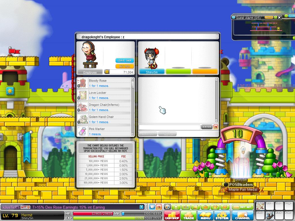 maplestory how to change back from bieng a snail