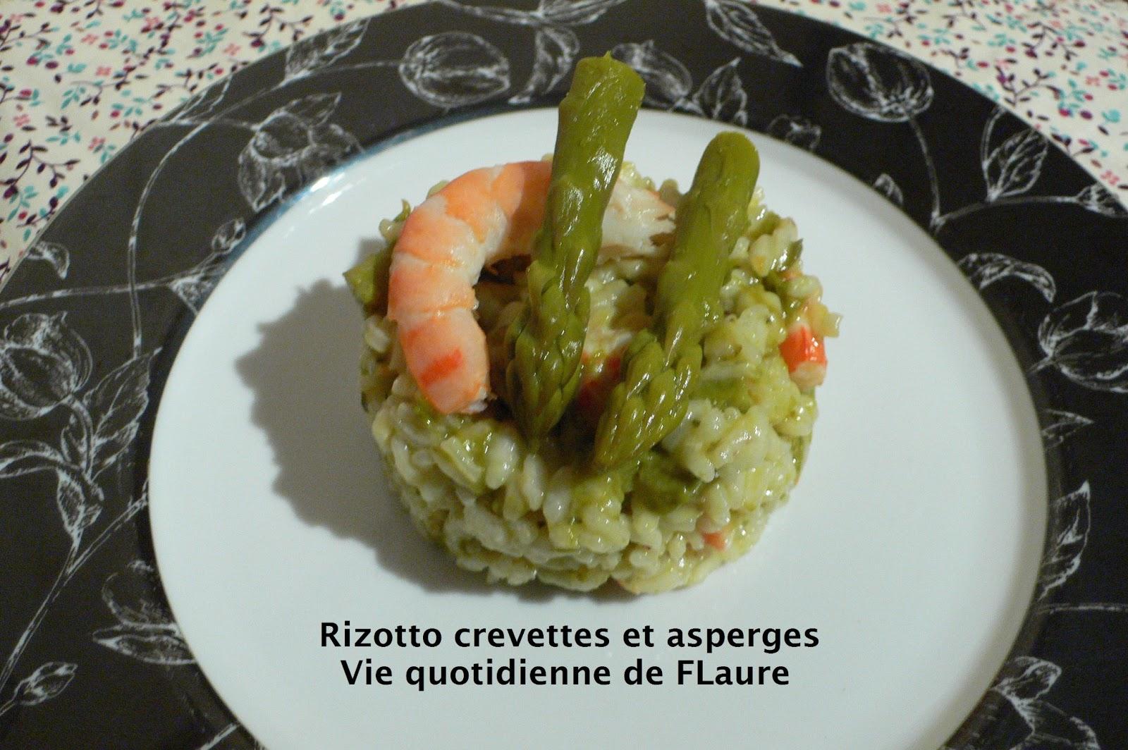 risotto crevettes et asperges blogs de cuisine. Black Bedroom Furniture Sets. Home Design Ideas