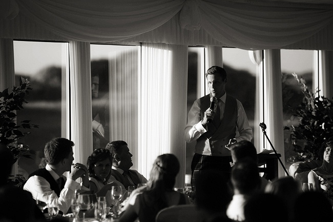 Wedding Photography Doonbeg Ireland, best man speech