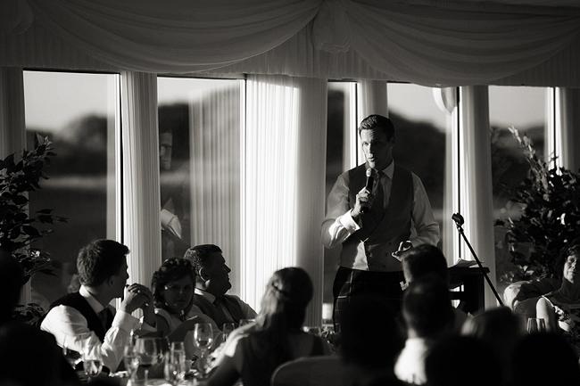 Wedding Photography Doonbeg Ireland, best man speech