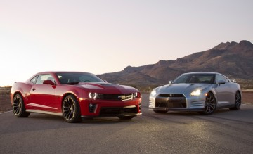 Camaro Zl1 Vs Nissan Gt R Road And Track 2009gtr Com