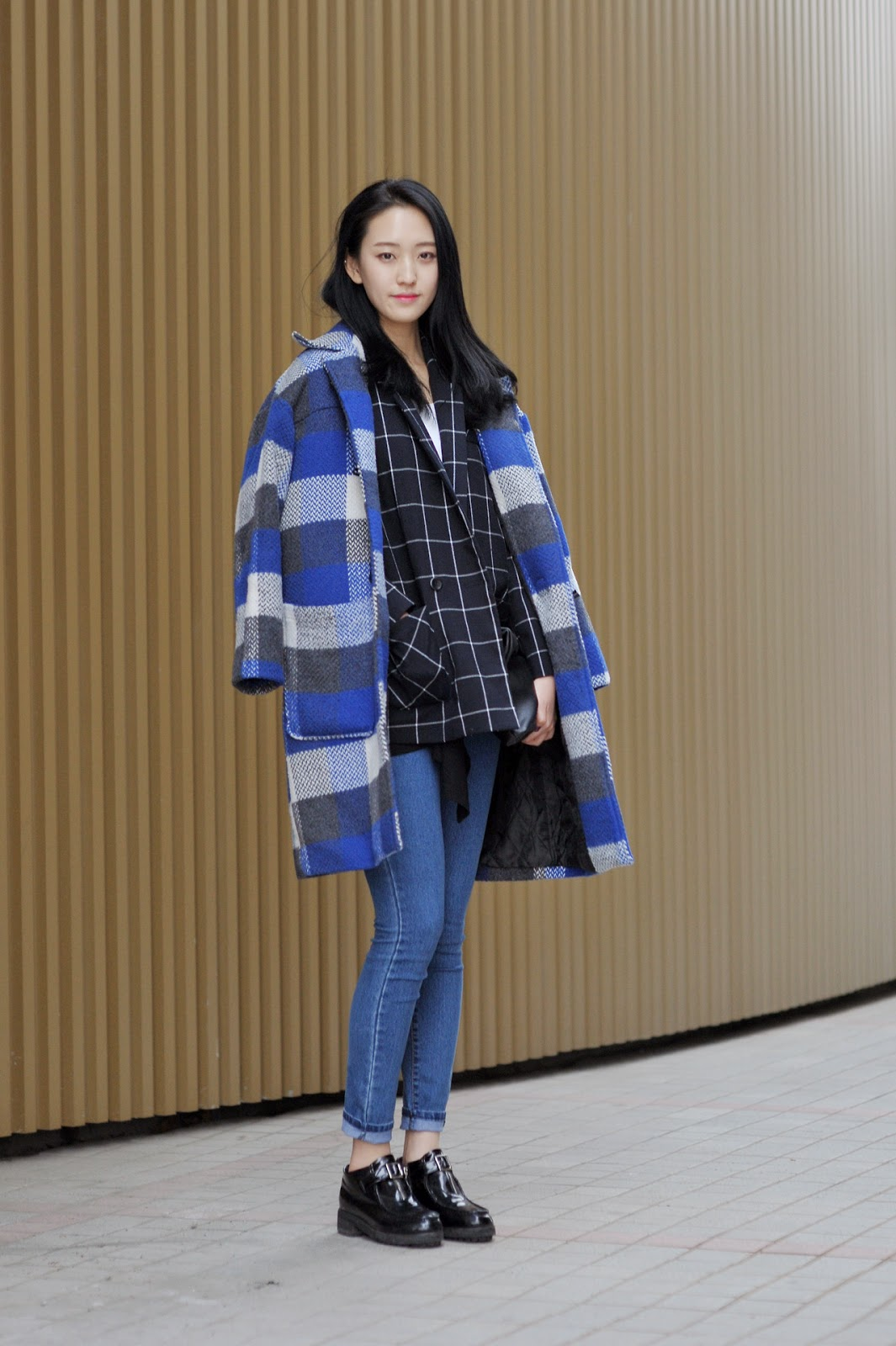 Korean street fashion winter
