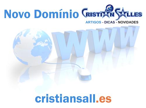 Novo Domínio e Exclusivo Cristian Salles