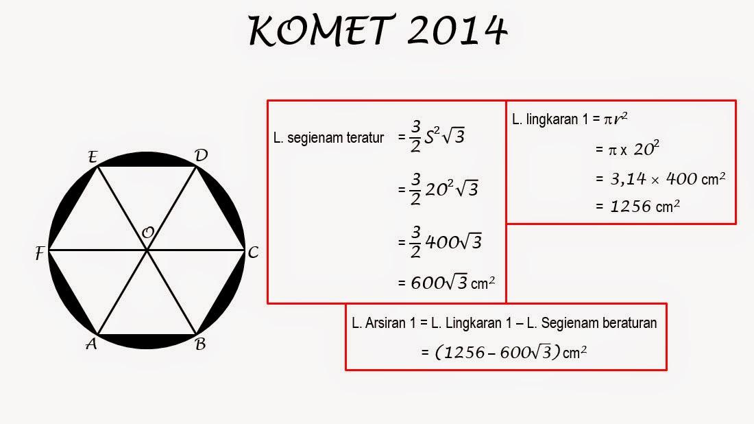 Final Utama Komet 2014 Solusi Nomor Soal 5 Smp Negeri 1