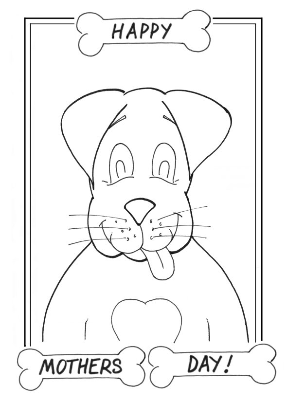 Happy Mothers Day Coloring Pages Coloring Picutres Happy Mothers Day Coloring Pages