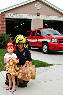 Donate your stuffed animals to firemen