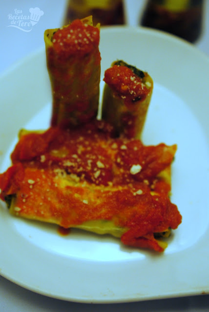 Canelones rellenos de calabaza, espinaca y queso mascarpone tererecetas 04